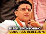 Video : BJP Behind Sachin Pilot's Revolt? A Reality Check