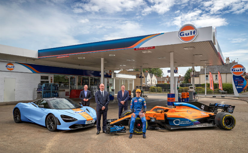 McLaren customers can get their supercars painted in the Gulf livery inspired by the F1 GTR
