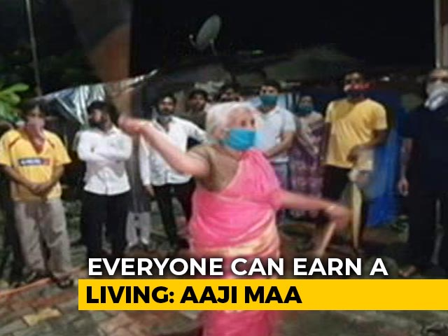 "Video : ""Don't Like Begging"": 85-Year-Old <i>Aaji Maa</i> On Performing Stunts With Sticks"