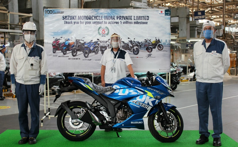 Suzuki Motorcycle India has its facility at Kherki Dhaula in Haryana