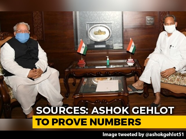 Video : Rajasthan Floor Test Next Week? Buzz After Ashok Gehlot Meets Governor