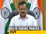 Video : Diesel In Delhi Cheaper By Over Rs. 8, VAT Cut To 16.5%: Arvind Kejriwal