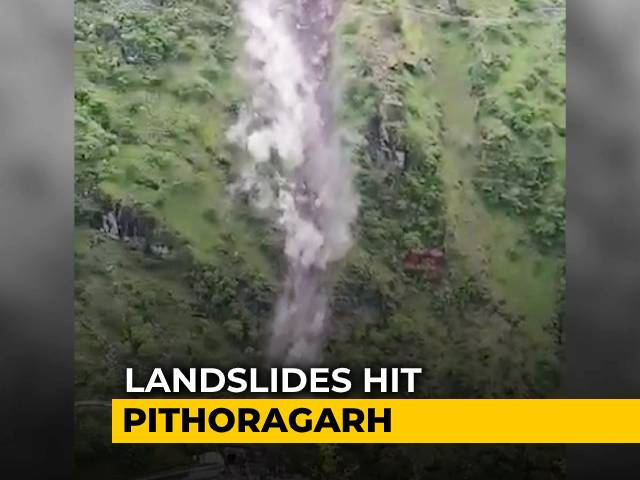Video : Landslides Hit Uttarakhand's Pithoragarh After Days Of Heavy Rain | NDTV Beeps