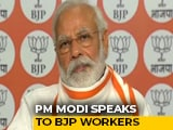 Video : You Are Devoted To Service, PM Modi Tells BJP Workers