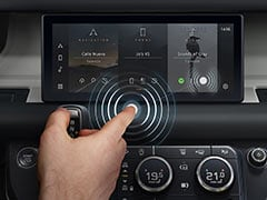 Jaguar Land Rover's New Contactless Touchscreen Will Help Avoid Bacteria And Viruses