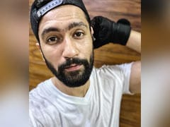 "Vicky Kaushal ""Regrets"" Taking A Selfie During Workout Session. See His ROFL Post"
