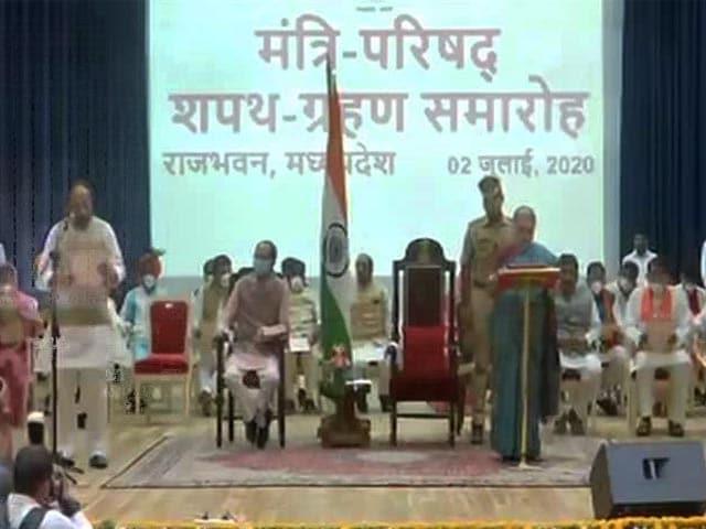 Video: In Madhya Pradesh's New Cabinet, The Jyotiraditya Scindia Impact
