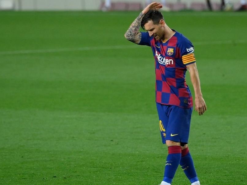 Lionel Messi Rages As Barcelona Surrender La Liga To Real Madrid