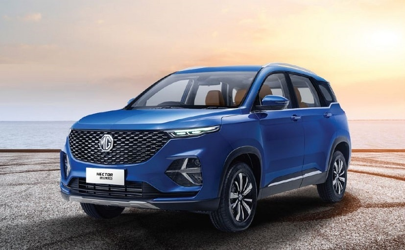 MG Hector Plus India Launch Live Updates; Prices, Features, Specifications, Images