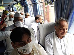 "Now MLAs Off To Jaisalmer As Ashok Gehlot Says ""Horse-Trading Rates Up"""