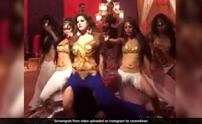 जरीन खान ने मलाइका अरोड़ा के 'माही वे' सॉन्ग पर यूं झूमकर किया डांस, देखें Video