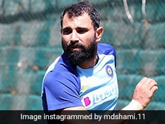 "Mohammed Shami Says ""Have Been In Good Rhythm, Don't Feel Any Stiffness"""