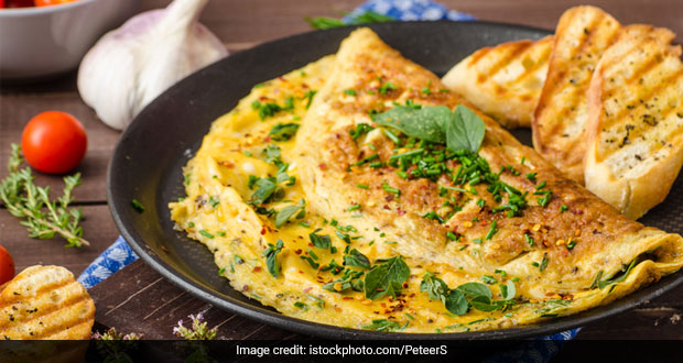 High-Protein Breakfast Recipe: How To Make Tasty And Easy Double Bonanza Paneer Omelette For Breakfast