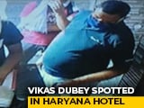 Video : UP Gangster Wanted In Cops' Killing Seen In Hotel Near Delhi, Searches On
