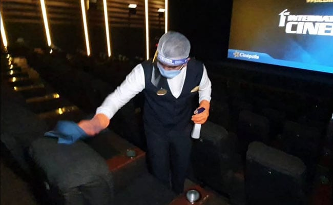 50% Occupancy, Seat Markings, Other SOPs As Cinemas Open On October 15