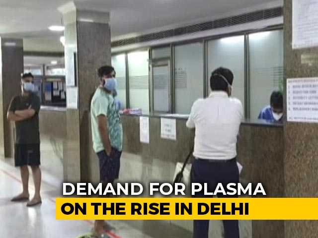 Video : 'Find A Replacement': Delhi's New Plasma Policy Amid Donor Shortage