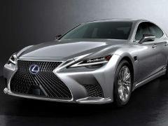 2021 Lexus LS Facelift Makes Global Debut