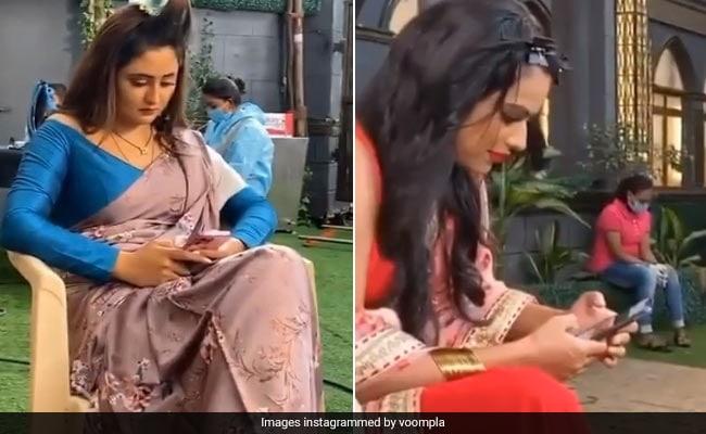 रश्मि देसाई और निया शर्मा शूटिंग के बीच यूं समय बिताती आईं नजर, 'नागिन 4' के सेट से Viral हुआ Video