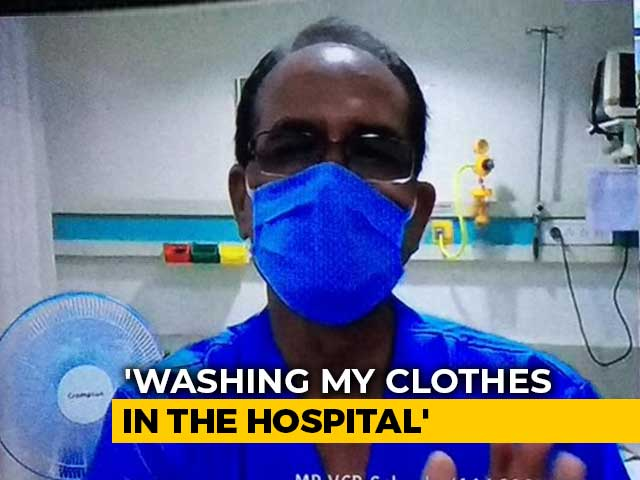 "Video : ""Washing My Own Clothes,"" Says Chief Minister Shivraj Chouhan, Covid +ve"