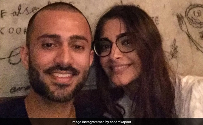 'You're My Guiding Light:' Sonam Kapoor Writes In Her Note For Birthday Boy Anand Ahuja