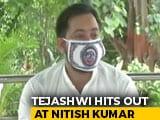 "Video : ""Manipulating COVID-19 Numbers"": Tejashwi Yadav Accuses Nitish Kumar"