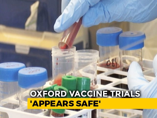 Video : Oxford COVID-19 Vaccine Shows Promise In Early Testing: Study