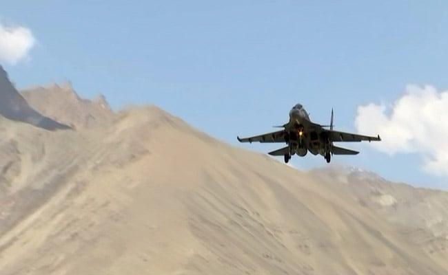 Indian Air Force Gives A Look At Readiness Near China Border