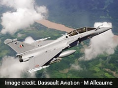 """Beauty And The Beast"": First Batch Of Rafales For India Stop Over In UAE"