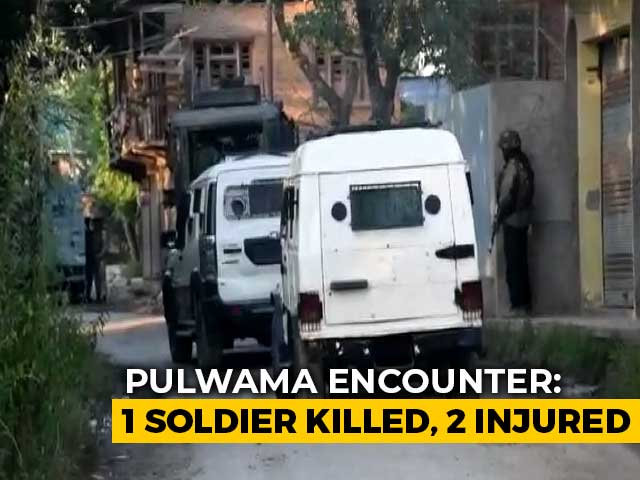 Video: Soldier Killed In Line Of Duty, Terrorist Shot Dead In Pulwama Encounter
