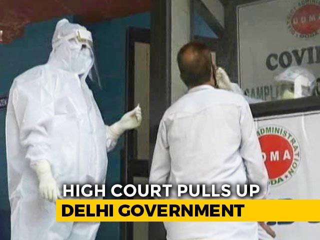 Video : Coronavirus Cases Shrinking In Delhi, Court Questions Testing Methods