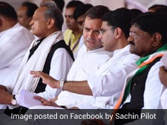Sachin Pilot Back In Jaipur, Ashok Gehlot In Jaisalmer As Friction Stays