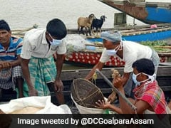 Flood Waters Recede In One Assam District; 21 Others Still Inundated