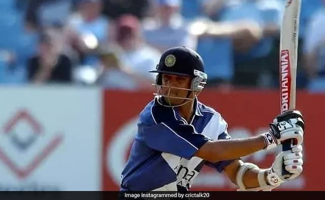 When Rahul Dravid played for Scotland hits 3 century