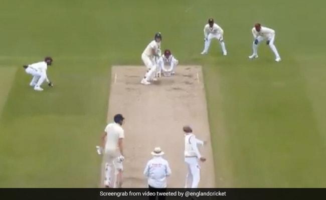 Eng Vs WI: बेन स्टोक्स ने लड्डू बॉल पर जड़ा जोरदार छक्का, देखते रह गए खिलाड़ी... देखें Viral Video