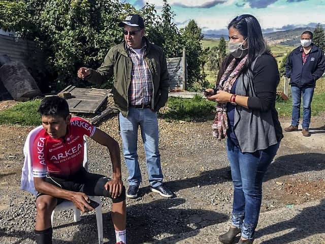 Nairo Quintana Hit By Car On Training Ride In Colombia