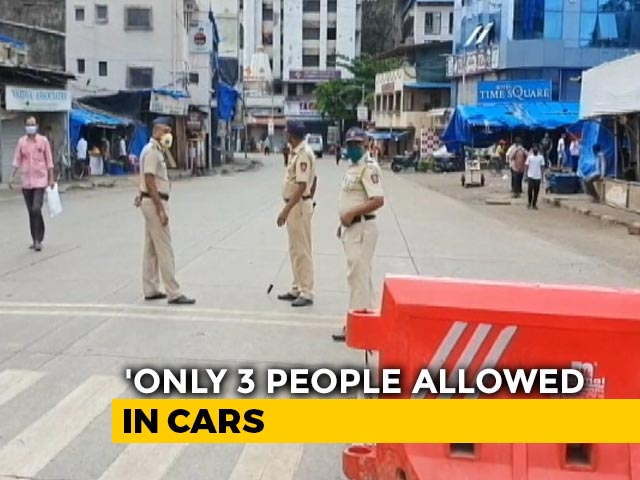 Video: Public Gatherings Stay Banned In Mumbai, Nearby Cities In Full Lockdown