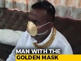 Video : Pune Man Wears Mask Made Of Gold Worth Nearly Rs. 3 Lakh