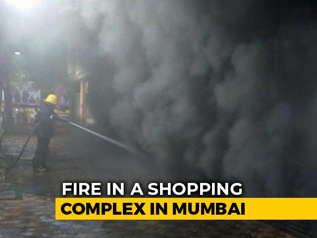 Video : Fire Breaks Out At Shopping Centre In Mumbai, 14 Fire Engines At The Spot