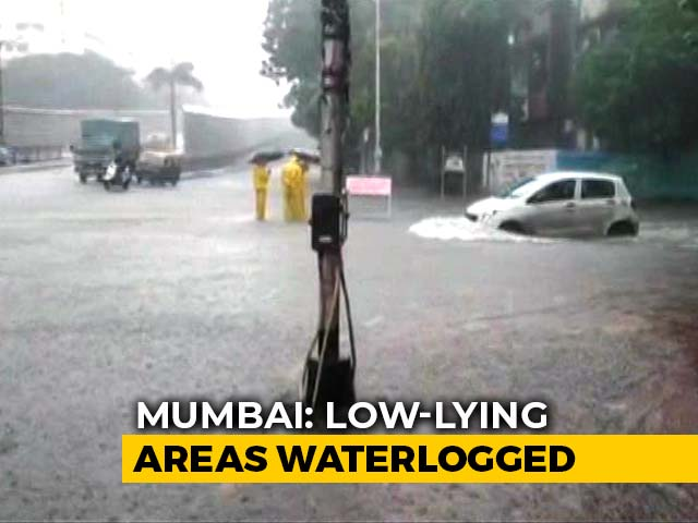 Video : Rains Lash Mumbai For Third Consecutive Day; Water-Logging In Some Areas