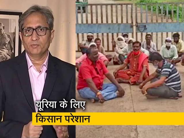 Video : रवीश कुमार का प्राइम टाइम : मध्यप्रदेश में यूरिया की कालाबाजारी