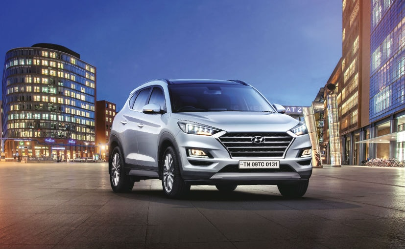 The Hyundai Tucson facelift gets the company's BlueLink connected car tech