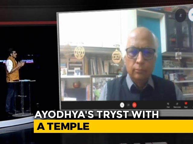Video : Temple In Ayodhya To Be 20-Foot Taller Than Earlier Model