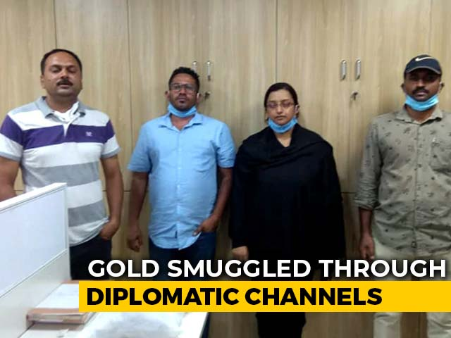 """Video : """"180 kg Via Diplomatic Channels"""": Sources On Kerala Gold Smuggling Case"""