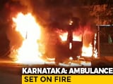 Video : COVID Patient Dies In Karnataka Hospital, Family Torches Ambulance