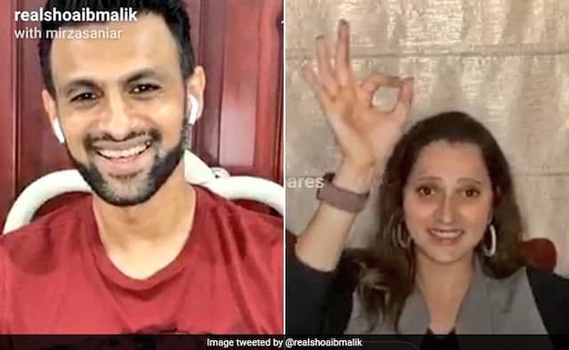 Shoaib Malik Live Instagram Chat with Sania Mirza FULL VIDEO