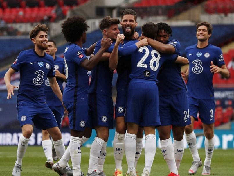 FA Cup: Chelsea Outclass Manchester United To Set Up All-London Final