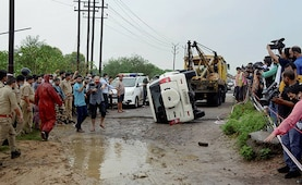 Car Tried To Avoid Cattle, Flipped, Vikas Dubey Tried To Escape: Cops