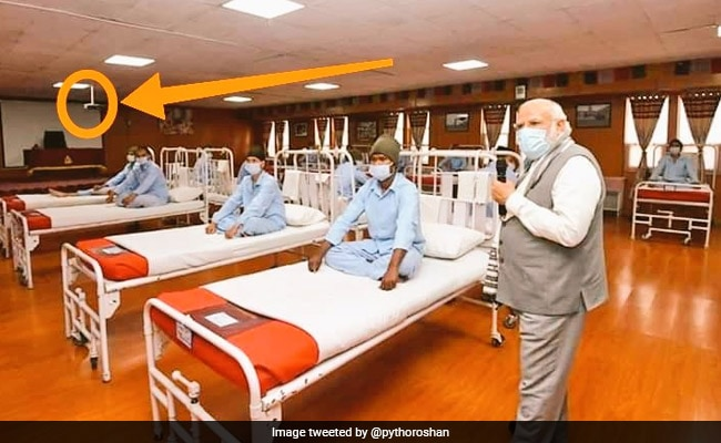 """Audio Video Hall Converted"": Military After Row Over PM's Hospital Images"