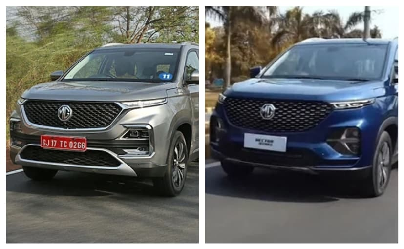 Mg Hector Plus Vs Mg Hector What S Different
