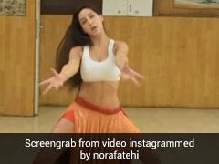 नोरी फतेही ने 'ओ साकी-साकी' सॉन्ग पर दिखाया अपना जलवा, Video में किया जबरदस्त बेली डांस